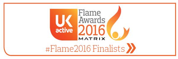 UK active Matrix Flame awards 2016