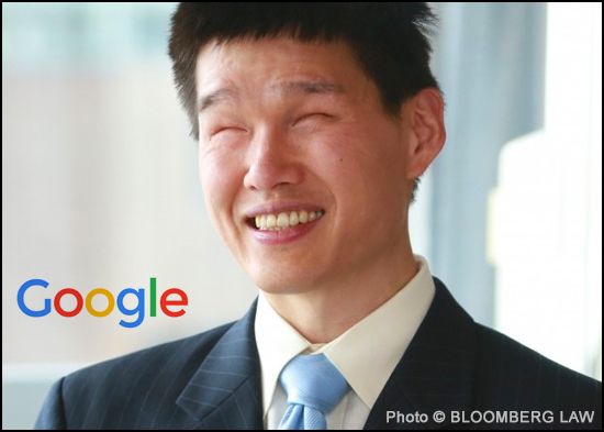 Jack Chen, a blind lawyer working in-house at Google