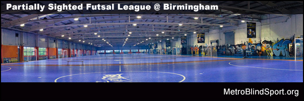 Partially Sighted Futsal League