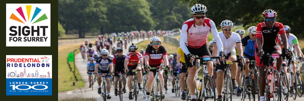 Sight for surrey-Prudential Ride London-Surrey 100 on Sunday, 31st July