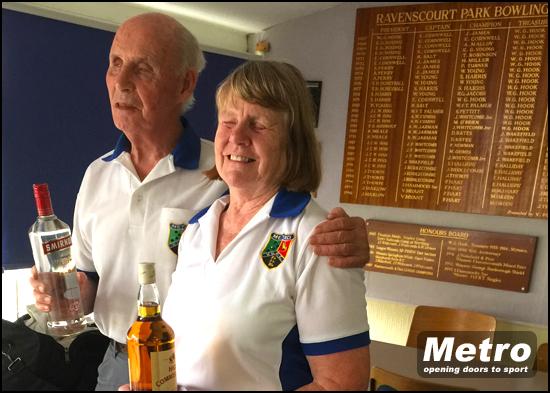 Eric and Maureen Metro Pairs Winners 2016