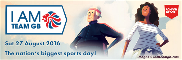 I am TEAM GB The nation's biggest sports day!