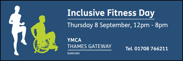 Inclusive Fitness Day - YMCA - Romford 8 Sept
