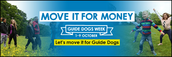 Guide Dog Week 1-9 Oct 2016