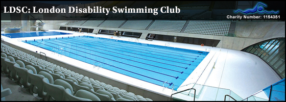 Invitation to the london disability swimming club