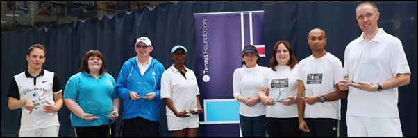 New champions at National Vision Impaired Tennis Championships