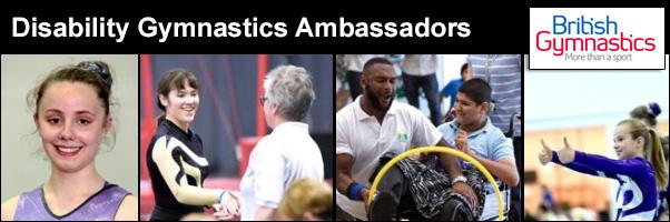 Disability Gymnastics Ambassadors
