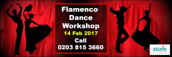 Flamenco Dance Workshop - 14 Feb - SELVis!