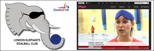 Elephants on the BBC - GoalballUK