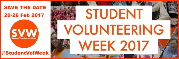 Student Volunteering Week, 20-26 Feb