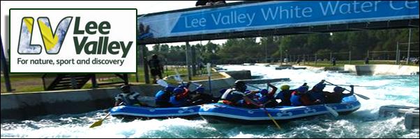 White Water Rafting Lee Valley