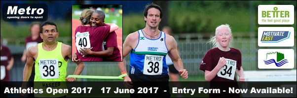 metro athletics open 2017