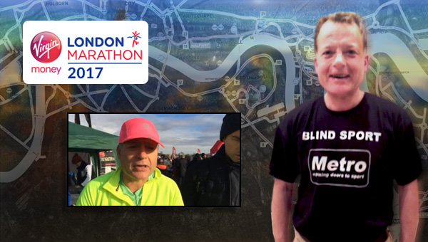 Andy Howard - Running for Blind Sport