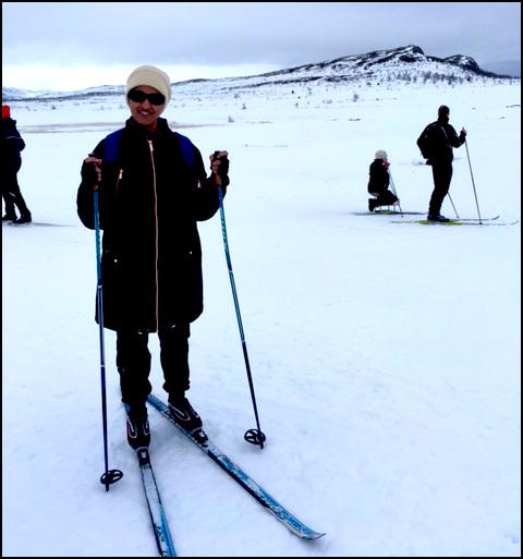 Masuma Skiing at Ridderrennet 2017