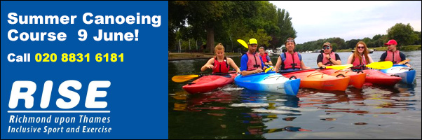 Summer Canoeing Coarses with RISE