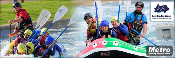 White Water Rafting Lee Valley 20 May 2017