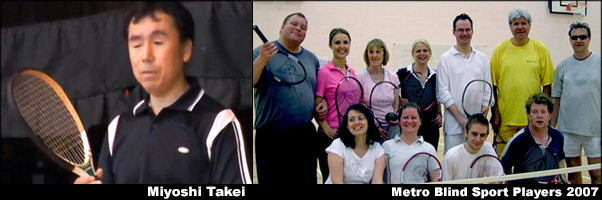 History of Blind Tennis banner image