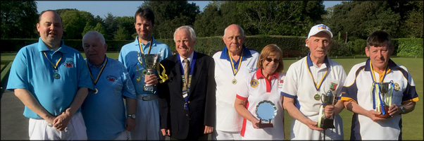 Results:-Weston-super-Mare Vision Impaired Bowls Tournament 2017