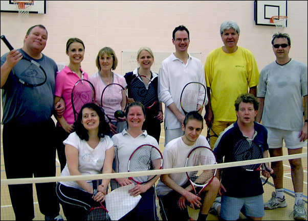 Metro Soundball Tennis Group May 2007