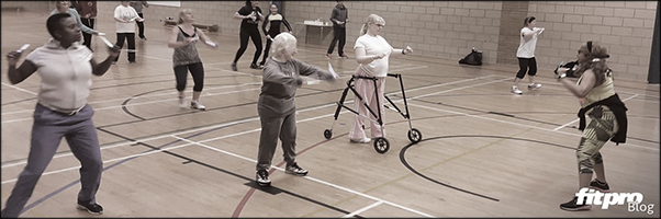 Accessible fitness for visually impaired clients -Michelle Felix