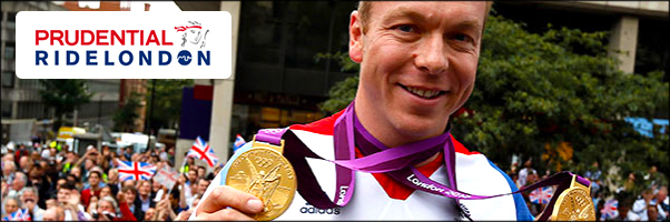 Sir Chris Hoy leads Great British Olympians at Prudential RideLondon