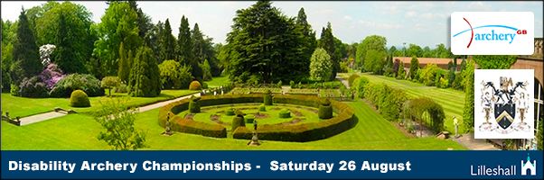 The First Disability Archery Championships at Lilleshall in August