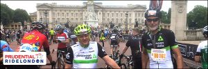 Chris Lewis shares his Prudential Ride London 2017