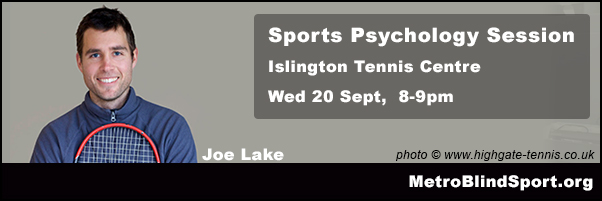 Sports Psychology with Joe Lake