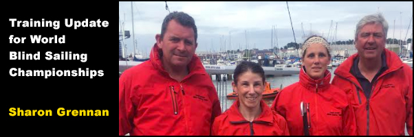 Training Update for World Blind Sailing Championships