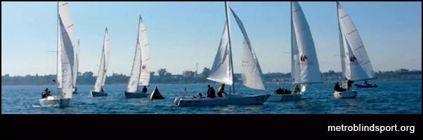 Sailing Update Blind Fleet Racing Worlds