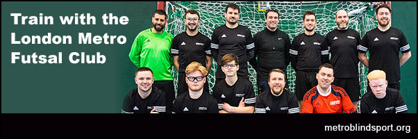 Train with the London Metro Futsal Club 2018