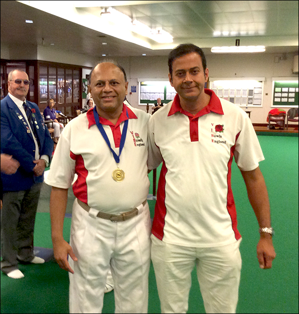 Amit and Harish - UK Indoor Singles Championships 2017