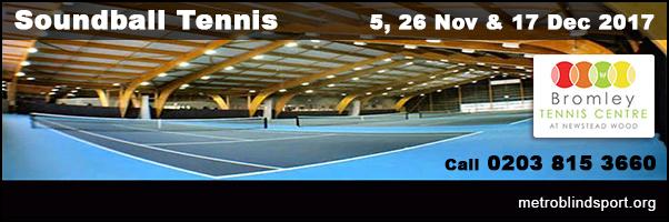 Soundball Tennis in Orpington!