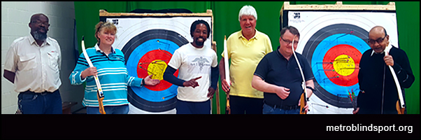 Archery with Metro Blind Sport