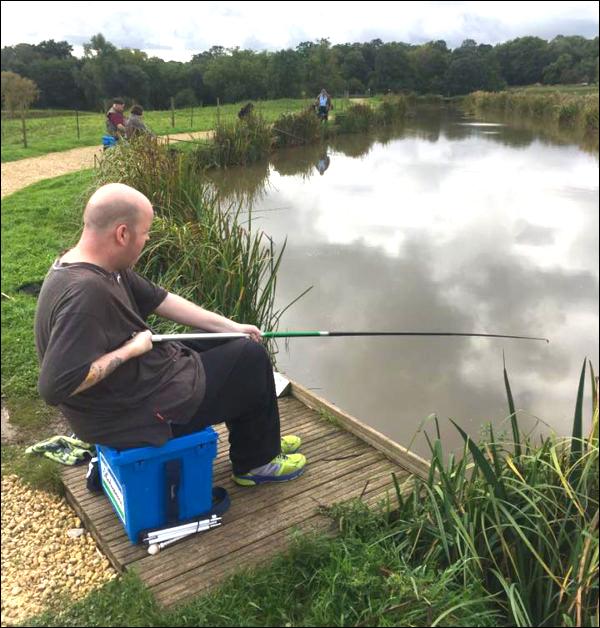 Birmingham Vision -fishing!
