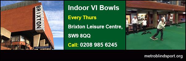 Indoor VI Bowls Brixton 2018