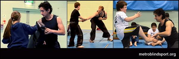 Martial Arts for blind children