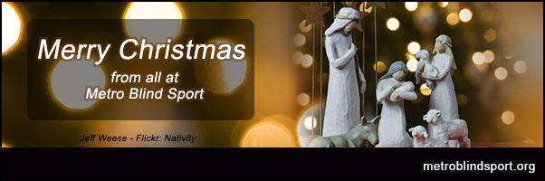 Merry Christmas to all from us all at Metro Blind Sport