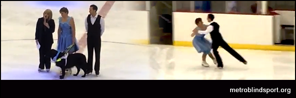 Tracey Compton Ice Skating Video