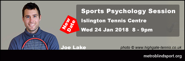 joe lake - New Sports Psychology Session 24 Jan 2018