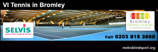 VI Tennis in Bromley 2018
