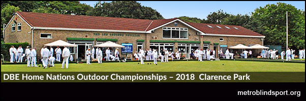 DBE Home Nations Outdoor Championships – 2018 Clarence Park