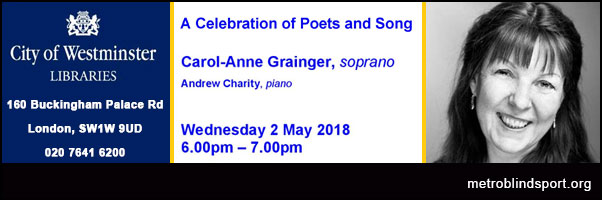 A celebration of Poets and Song!