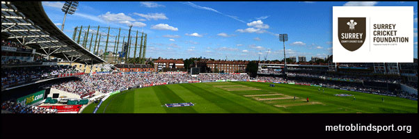 Surrey County Foundation's annual Disabilities Day. - Kia oval