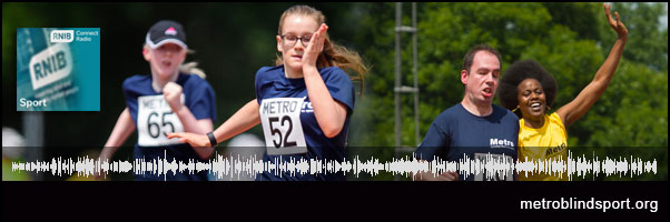 Athletics Open on RNIB Connect Radio