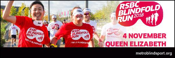 RSBC Blindfold Run 2018