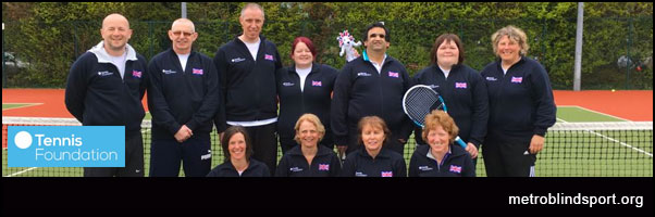 Team GB in Dublin IBTA International Tennis Tournament