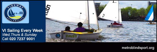 VI Sailing with Tideway Sailability