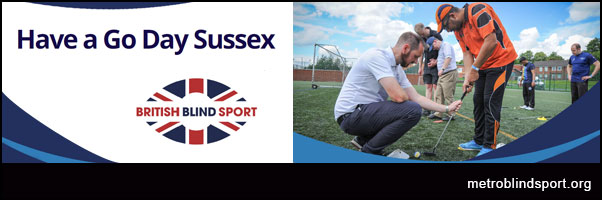Have A Go day Sussex - British Blind Sport