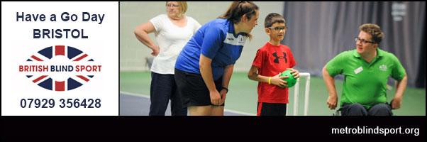 Have a go Day Bristol with British Blind Sport